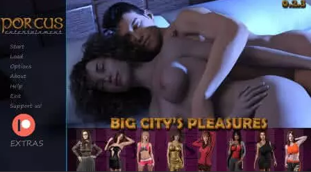 Big City's Pleasures 0.2.4 Game Walkthrough Download for PC Android