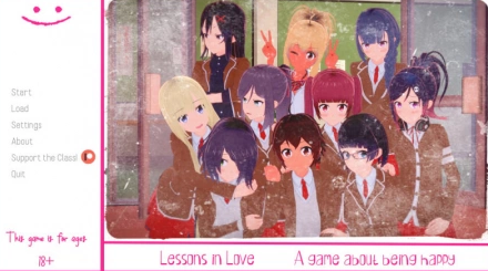 Lessons in Love 0.1.0 Game Walkthrough Download for PC Android
